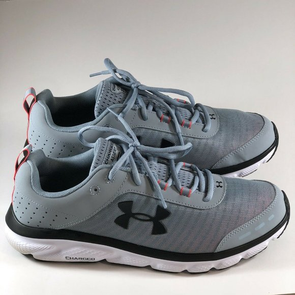 Under Armour Charged Assert 8 Gray Blue